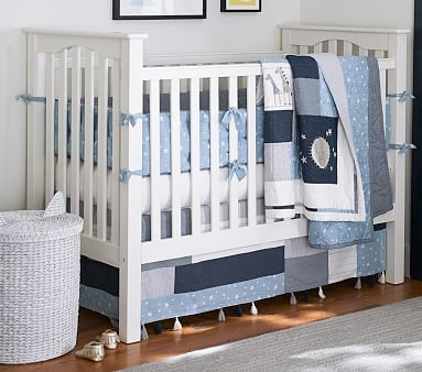 Kendall Fixed Gate Crib, Simply White -Standard UPS Delivery