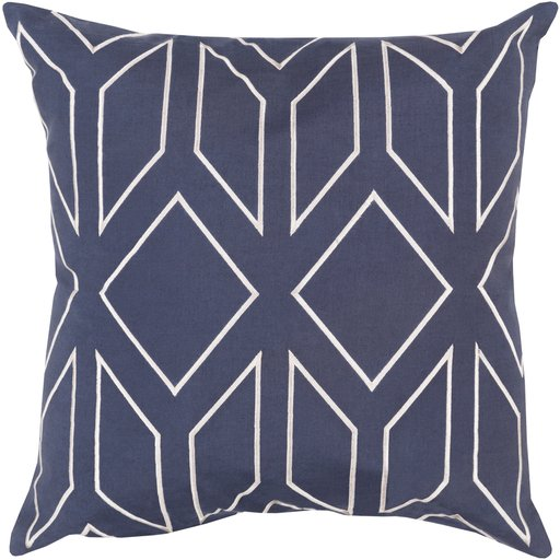 """Skyline, 20"""" Pillow with Poly Insert"""