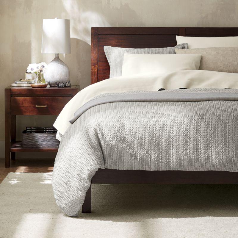 Dawson Clove King Sleigh Bed