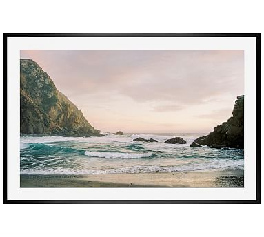 Big Sur Justine Milton 28X42 Wood Gallery Black Mat