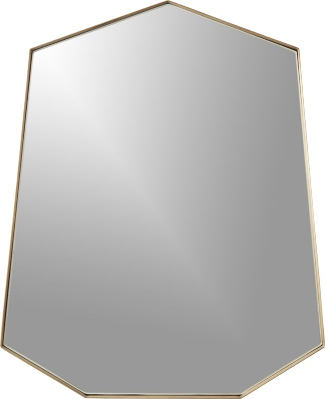 Shield Wall Mirror