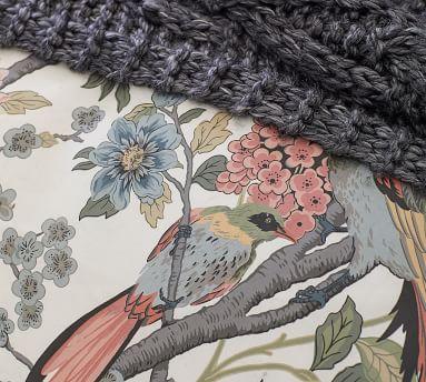 Bloom Floral Print Duvet, King/Cal King, Multi