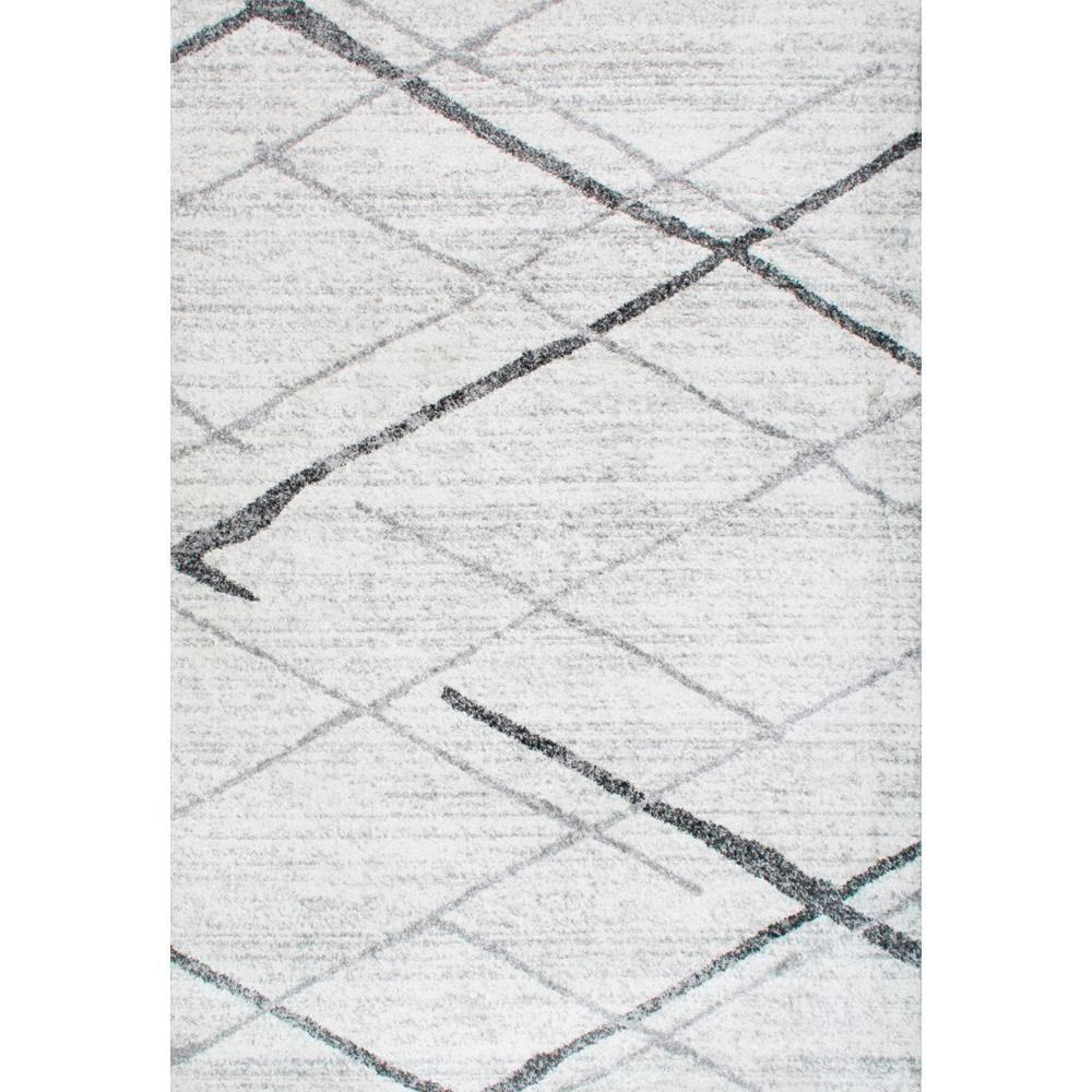 Thigpen Grey 8 ft. x 10 ft. Area Rug