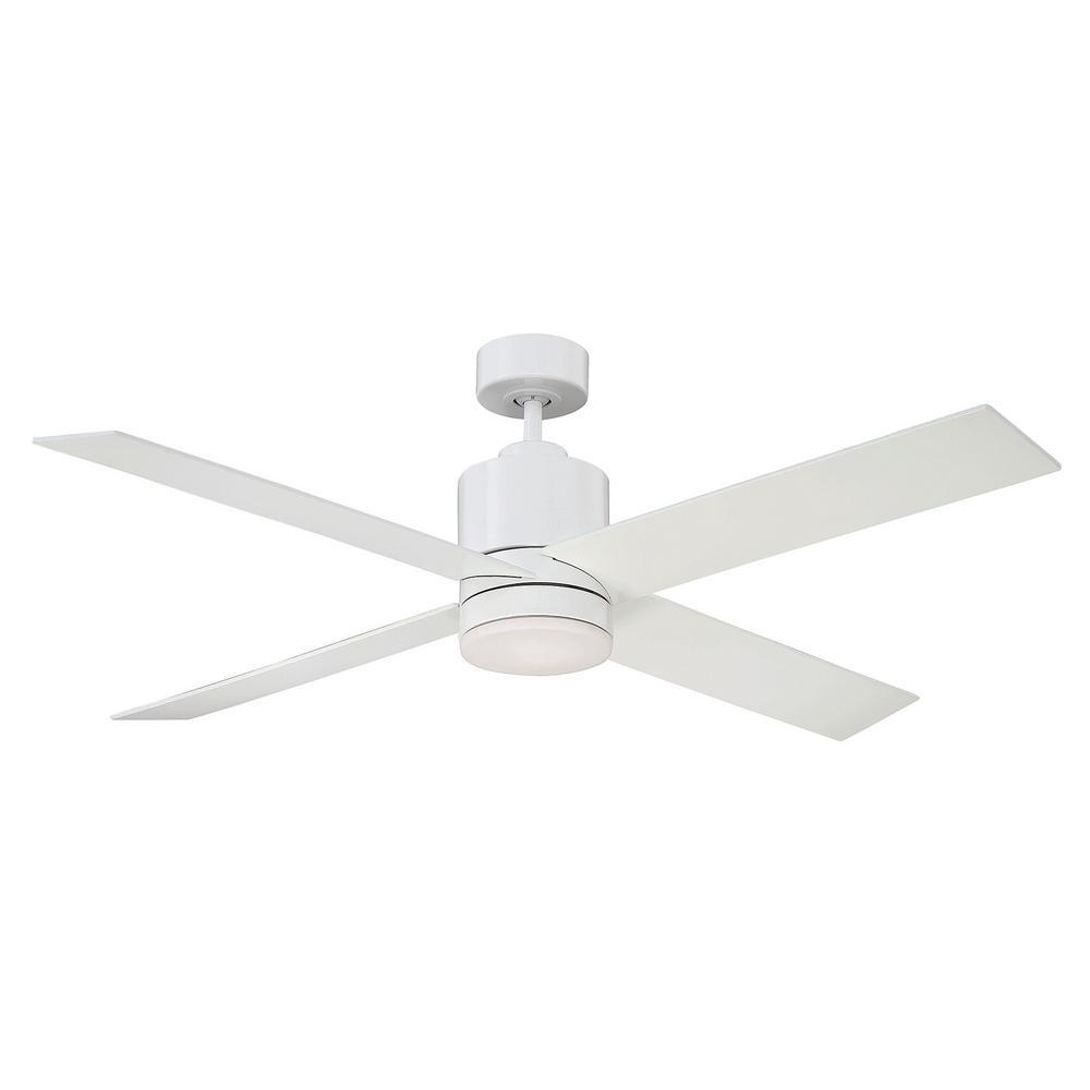 Filament Design 52 in. White Ceiling Fan