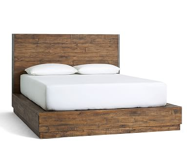 Big Daddy's Antiques Reclaimed Wood Bed, Queen