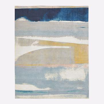 Sunkissed Landscape Rug, Light Pool, 9'x12'