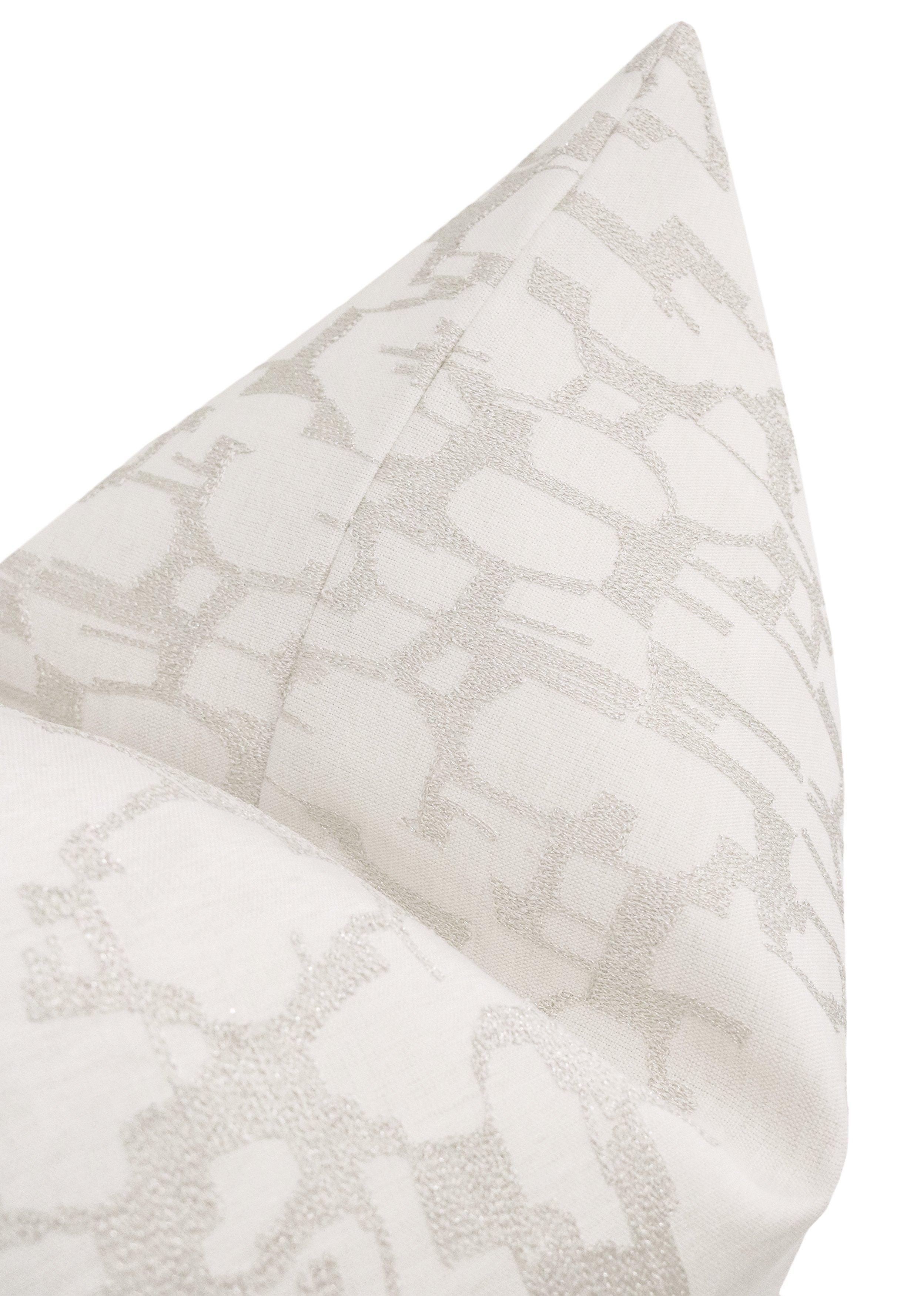 """Pastiche Linen // Cashmere - 12"""" X 18 Cover"""