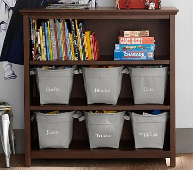Cameron 3-Shelf Bookcase, Chocolate, Standard UPS Delivery
