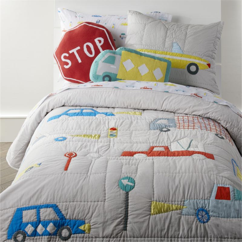 Organic Cars Pillowcase