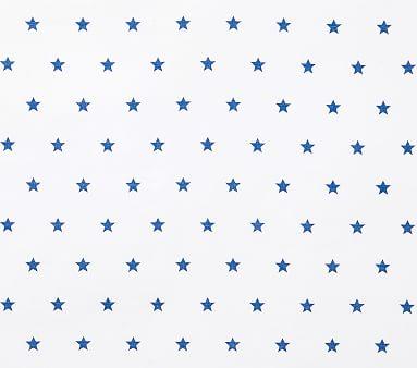 Organic Star Sheet Set, Full, Navy