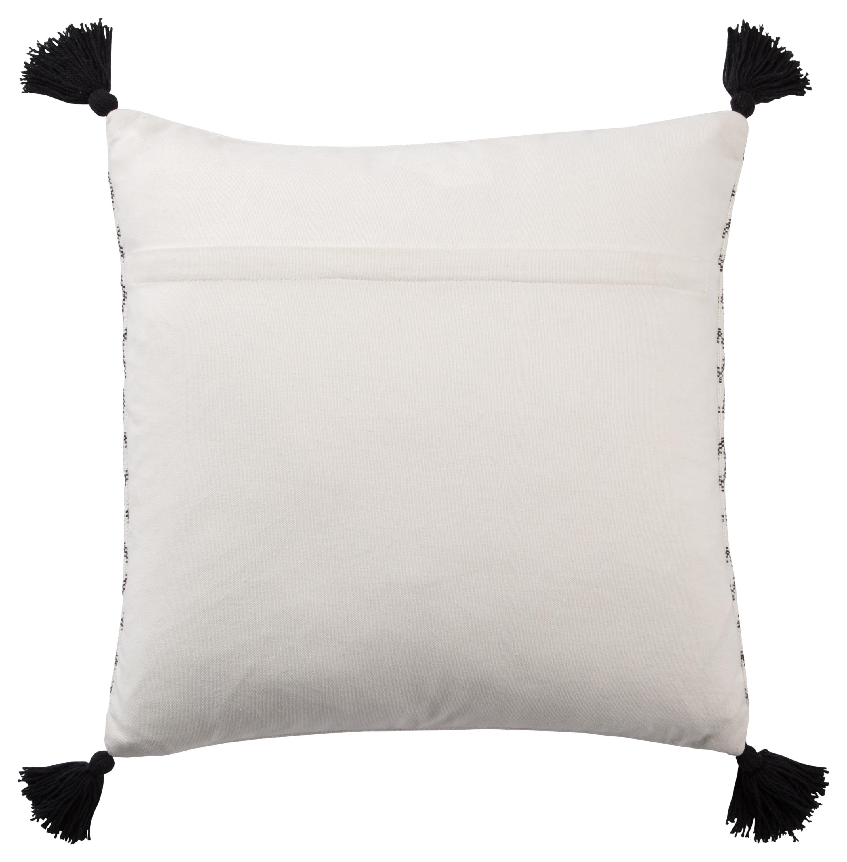 """Design (US) White 18""""X18"""" Pillow poly"""