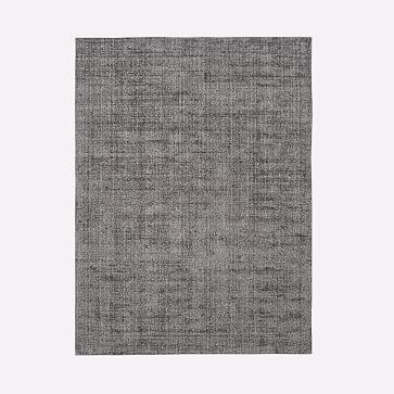 Patina Rug, Asphalt, 9'x12'