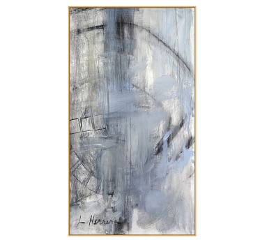 "Orbit Study #2 Framed Canvas, 34 x 61"""
