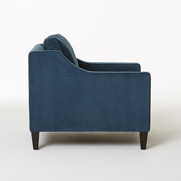 Paidge Armchair, Twill, Regal Blue