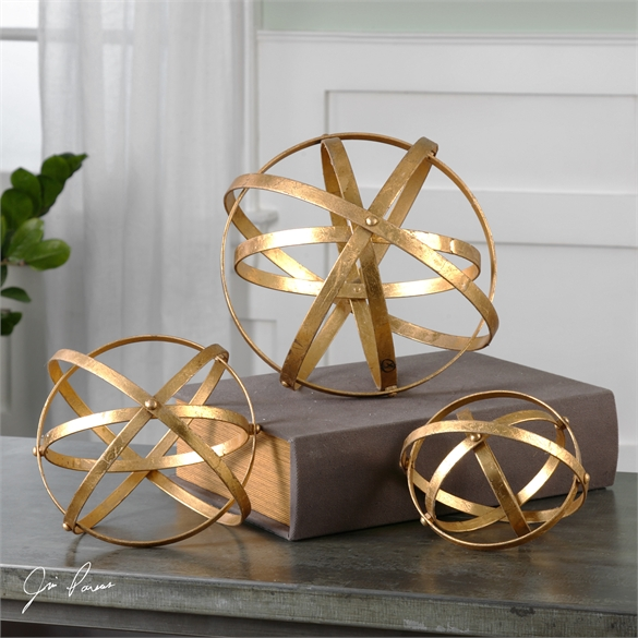 Stetson Gold Spheres, S/3