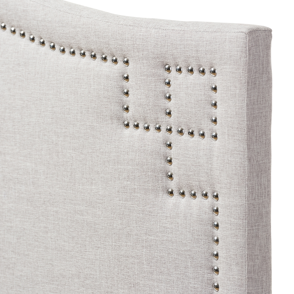 Modern and Contemporary Upholstered King Size Headboard