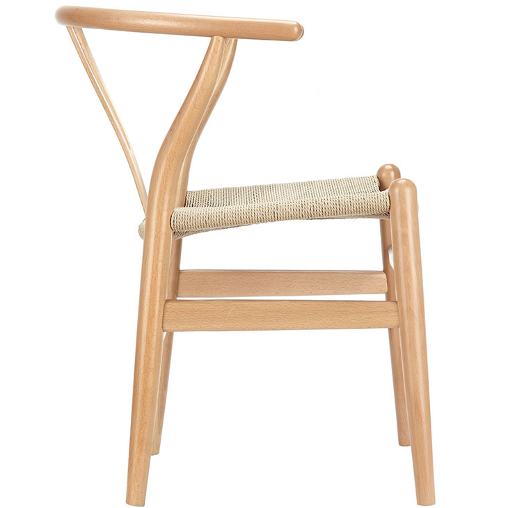 AMISH DINING WOOD ARMCHAIR IN NATURAL