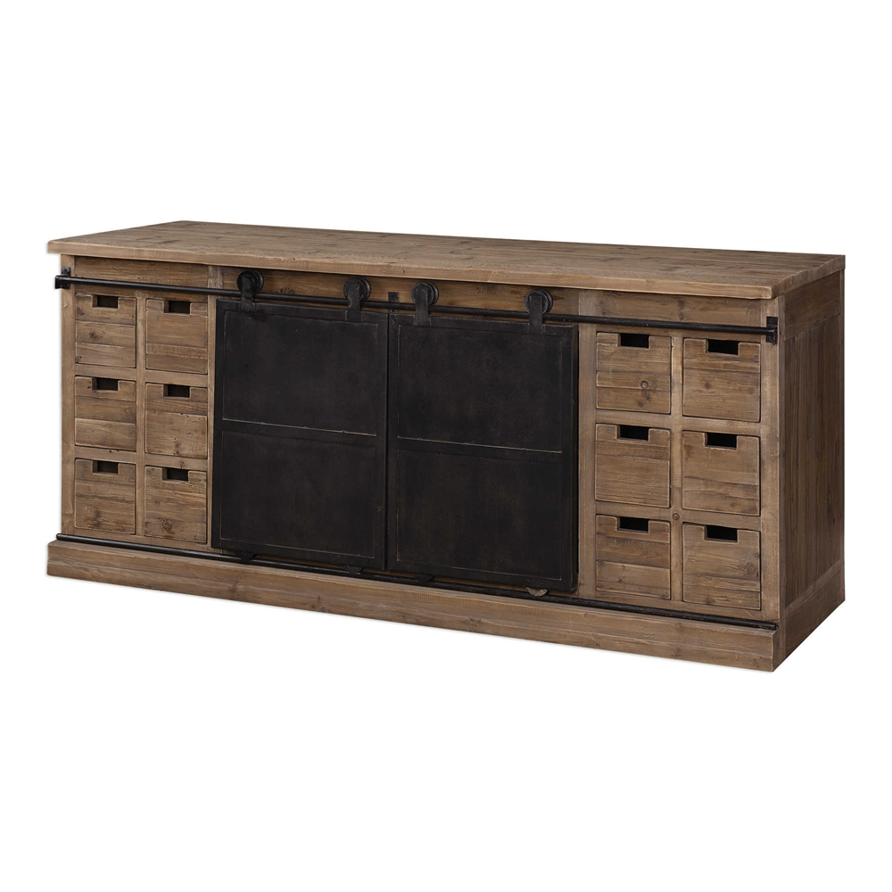 Leandrew Media Console By Uttermost Havenly