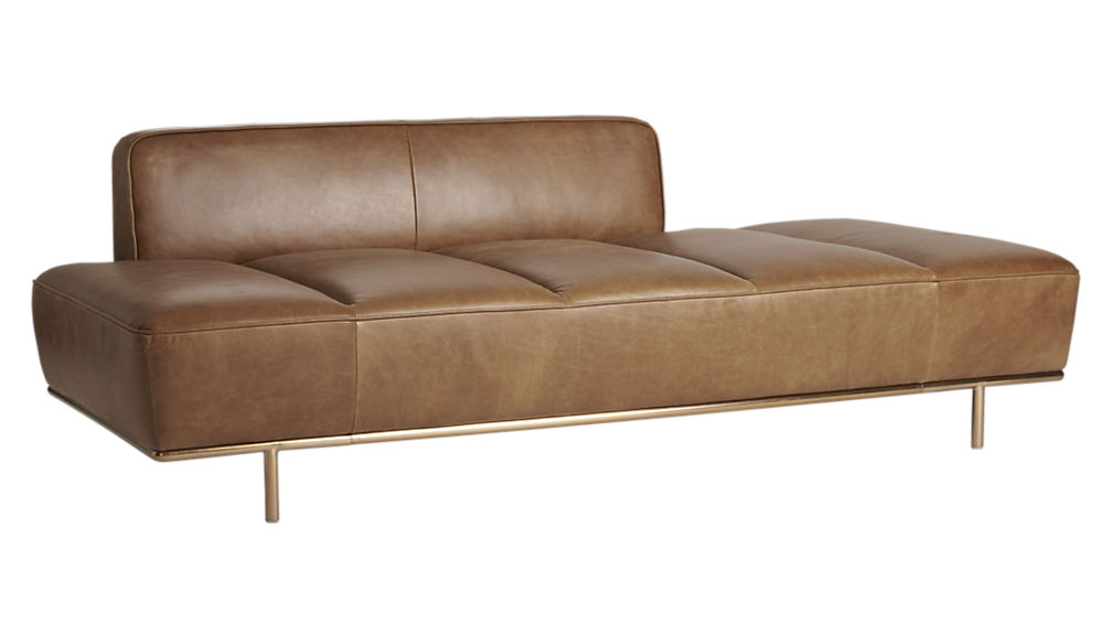 Lawndale leather daybed
