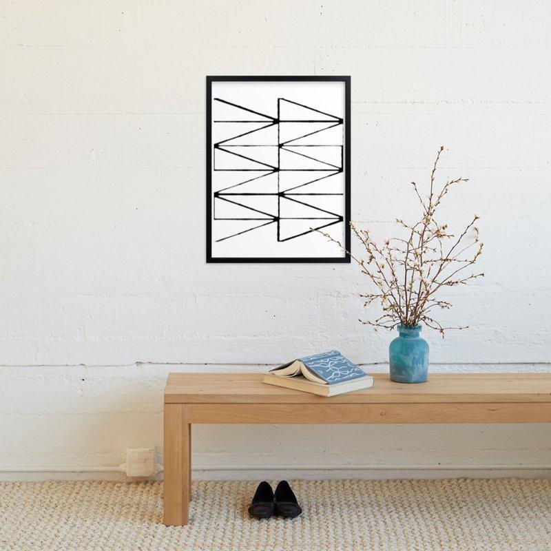 Visionary 2 - 18x24 - Rich Black Wood Frame