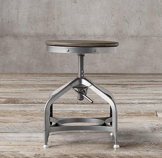 vintage toledo dining stool