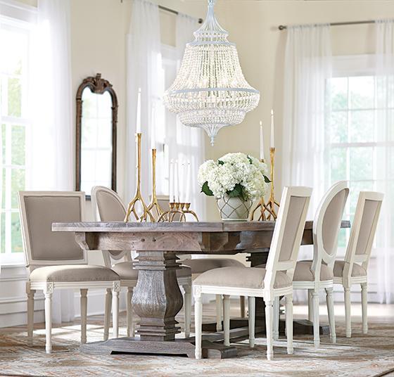 Decorators Table Aldridge Extendable Dining Table  Antique Grey.home