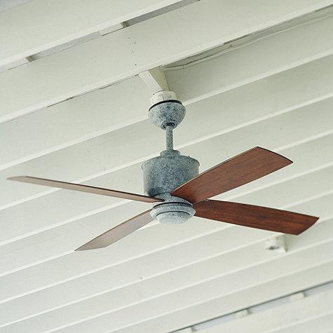 Carter Indoor/outdoor Ceiling Fan - Distressed Walnut... by ...