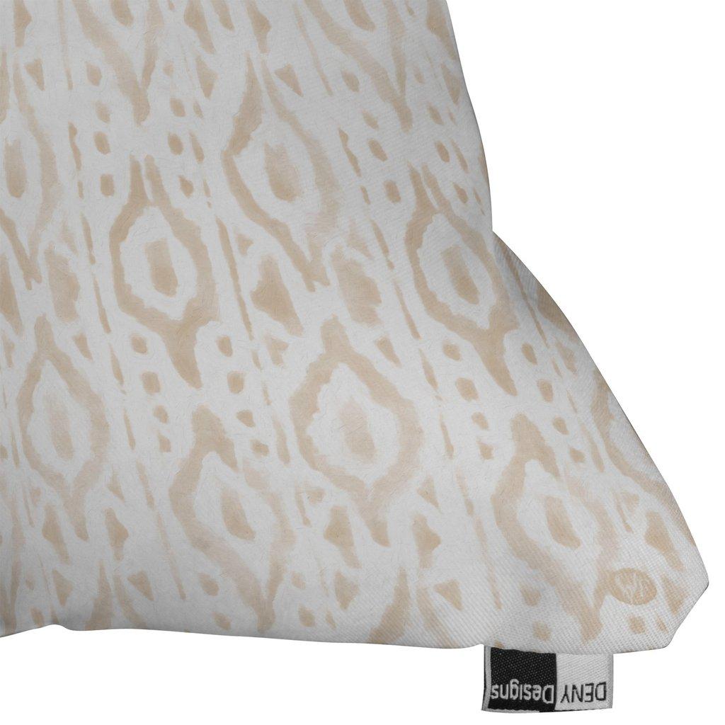 """DESERT LINEN Throw Pillow - 16"""" x 16"""" - Polyester Insert"""