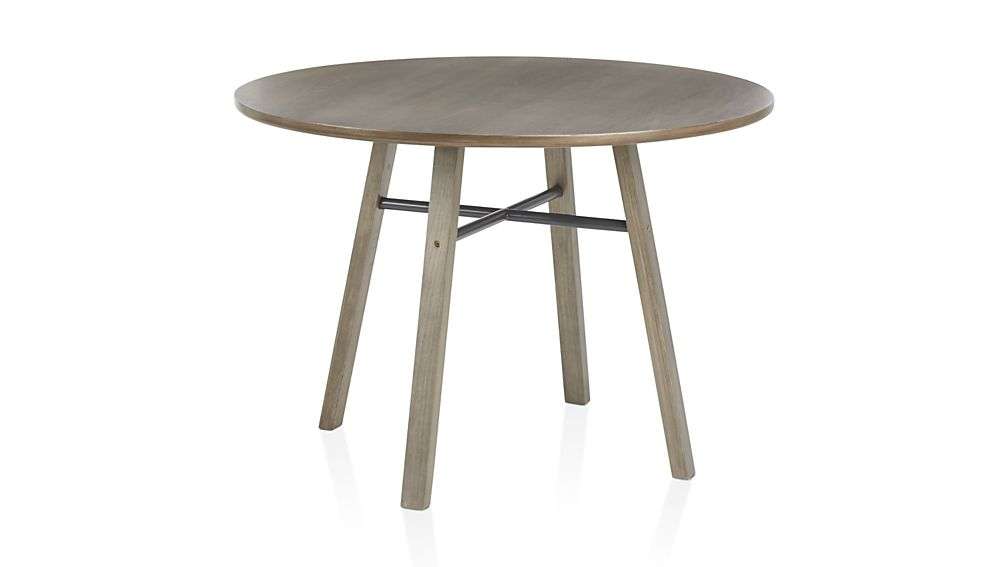 Scholar Round Dining Table by Crate and Barrel Havenly