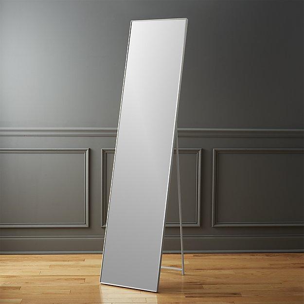 Infinity standing floor mirror