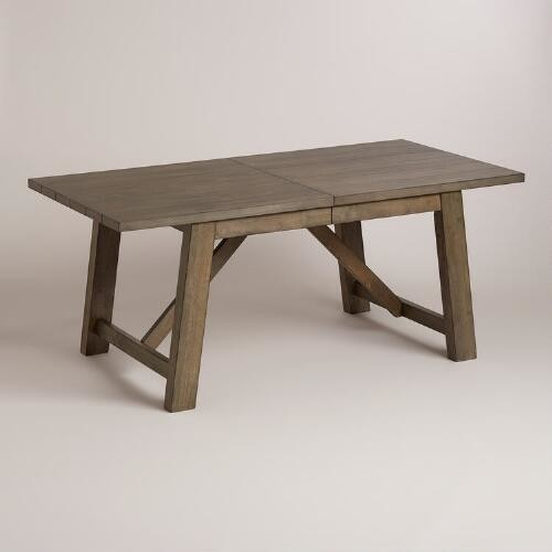 Wood Farmhouse Extension Table by World Market Cost Plus