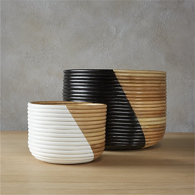 basket planters - Large