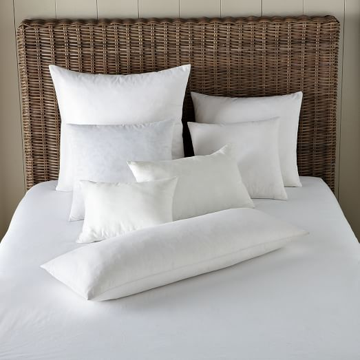 "Decorative Pillow insert - 12"" x 21"" - Feather"