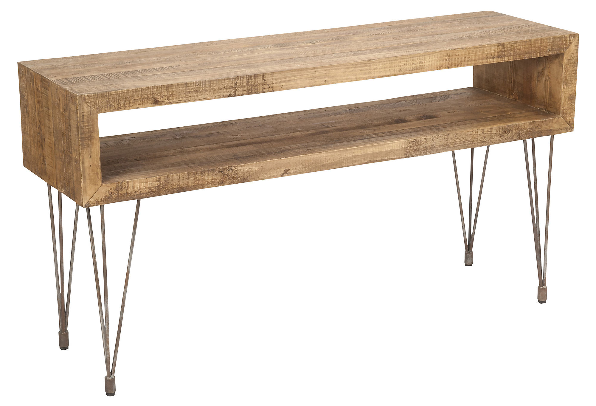Ballard designs durham console table by ballard designs havenly carole 2 level console table geotapseo Images