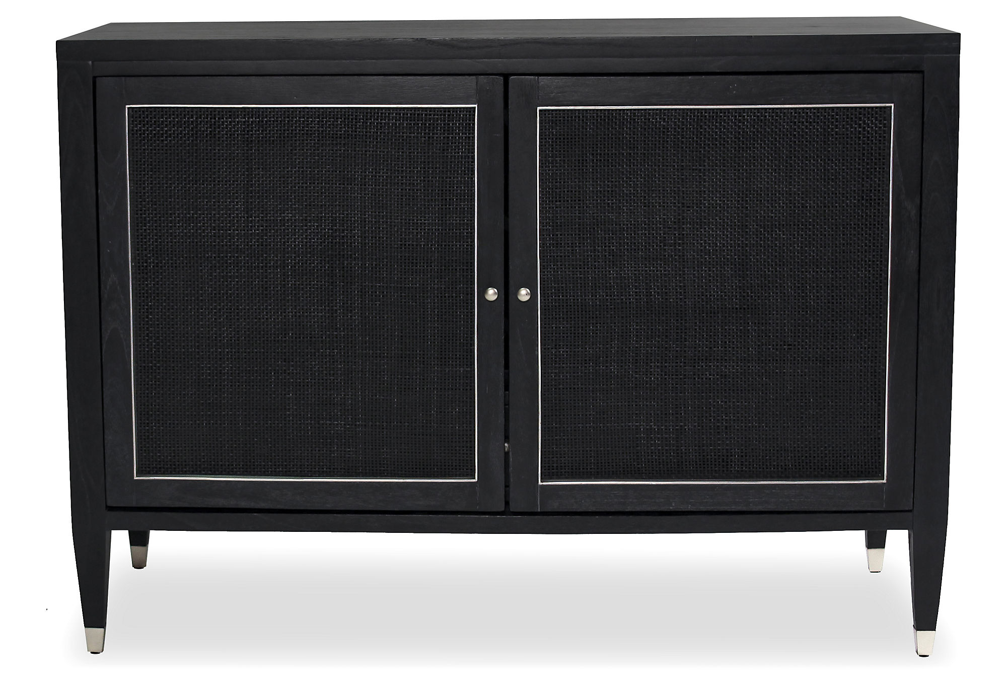 Parker Spirits Ebony Cabinet... by Crate and Barrel | Havenly