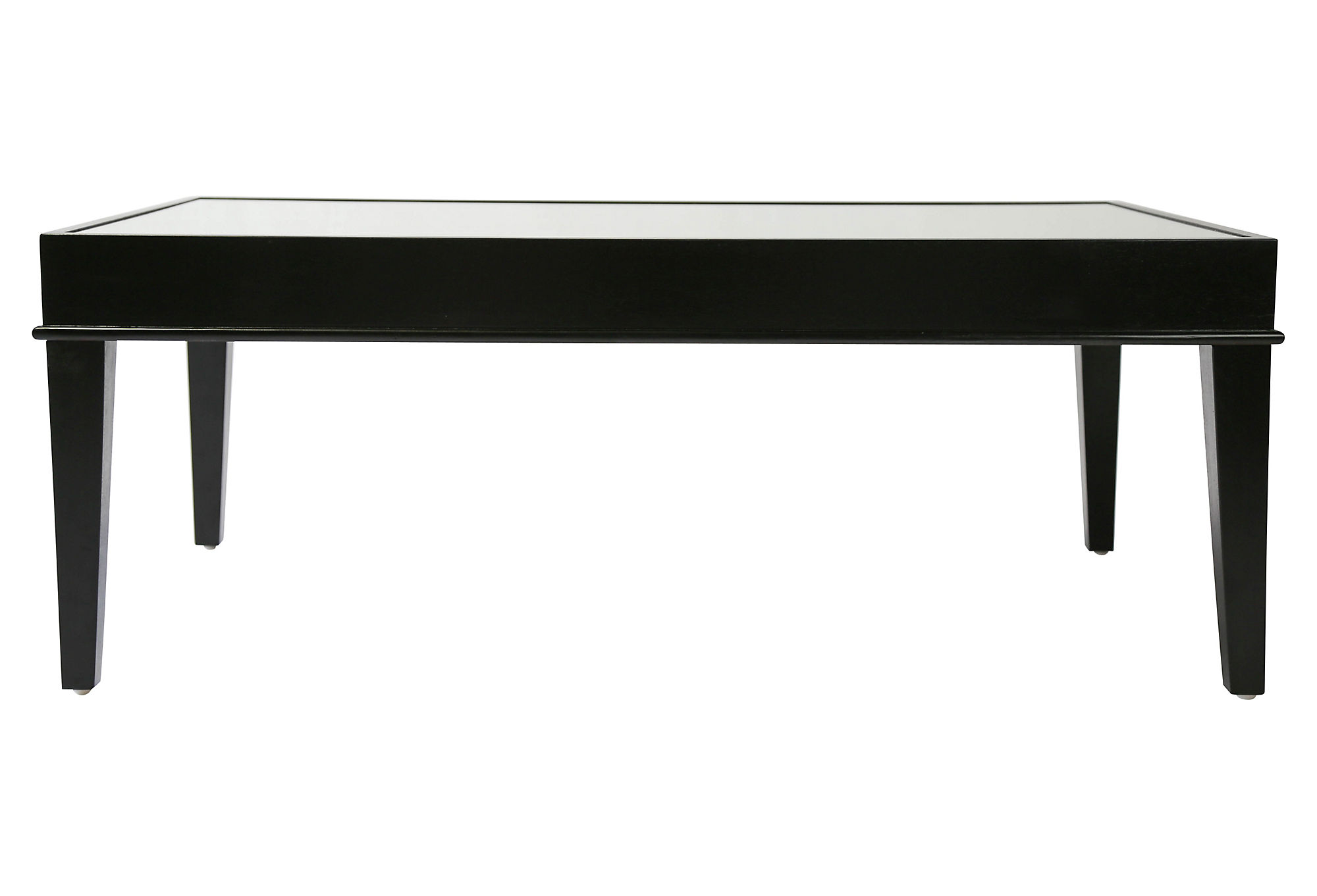 Jamie Console Table Matte Black by Pottery Barn