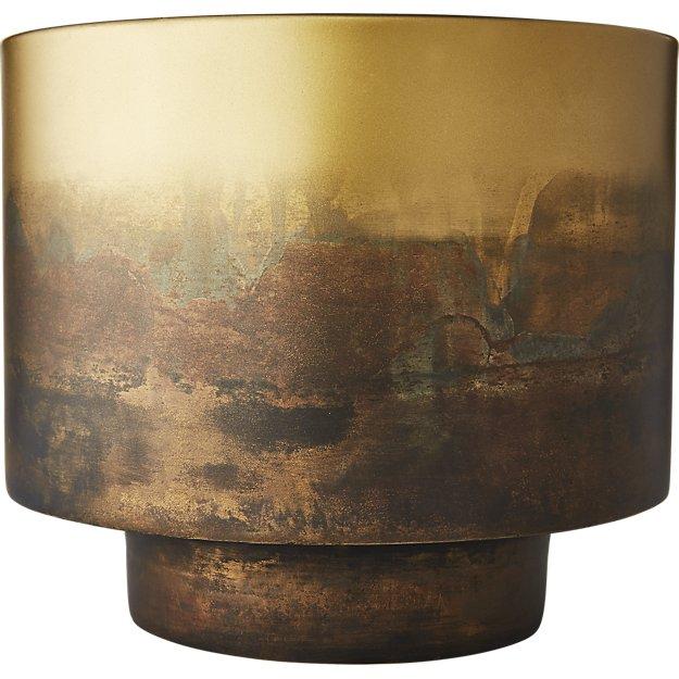 Sahara Brass Planter