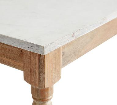 Calistoga Concrete Dining Table