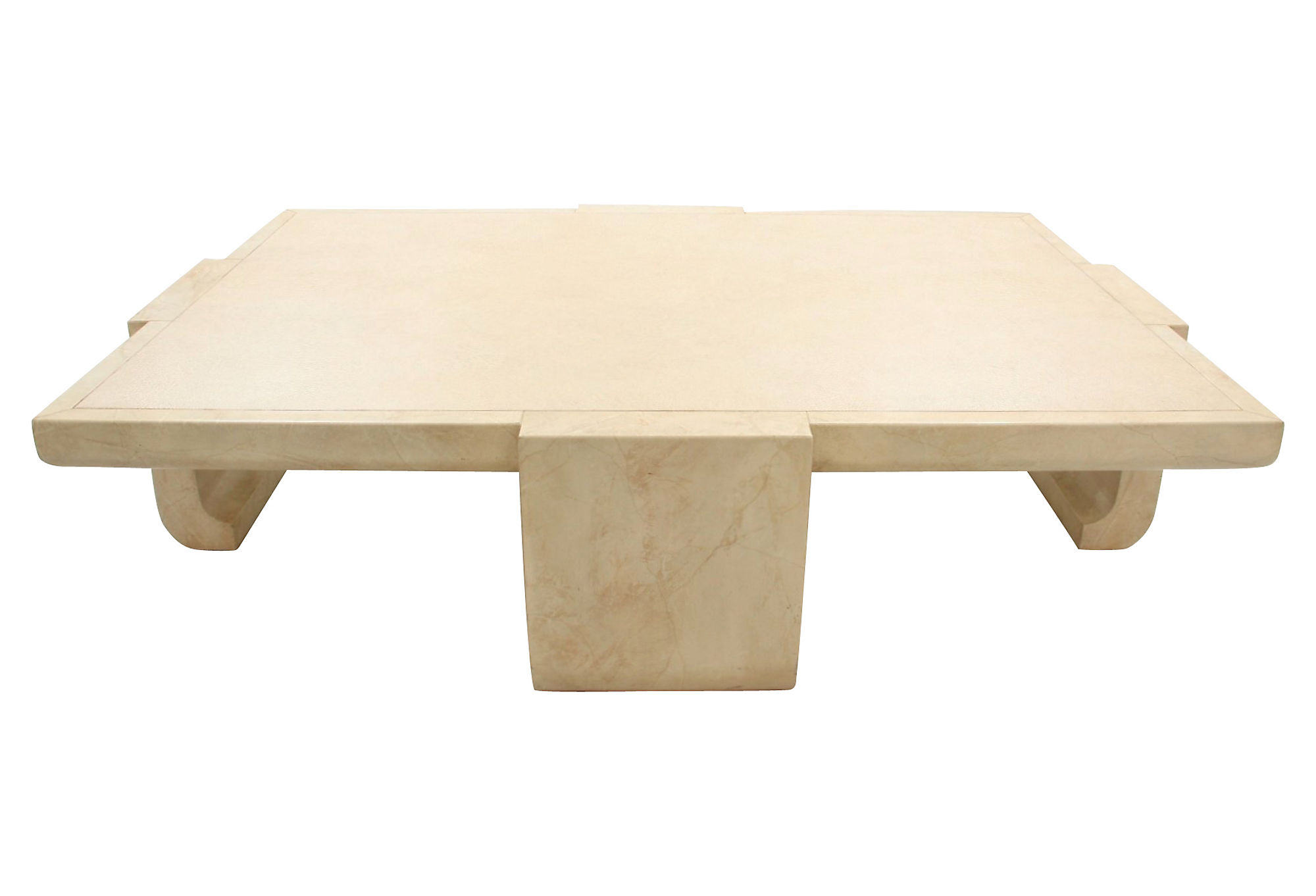 Designer alessandro For Baker Coffee Table Taupe by e Kings