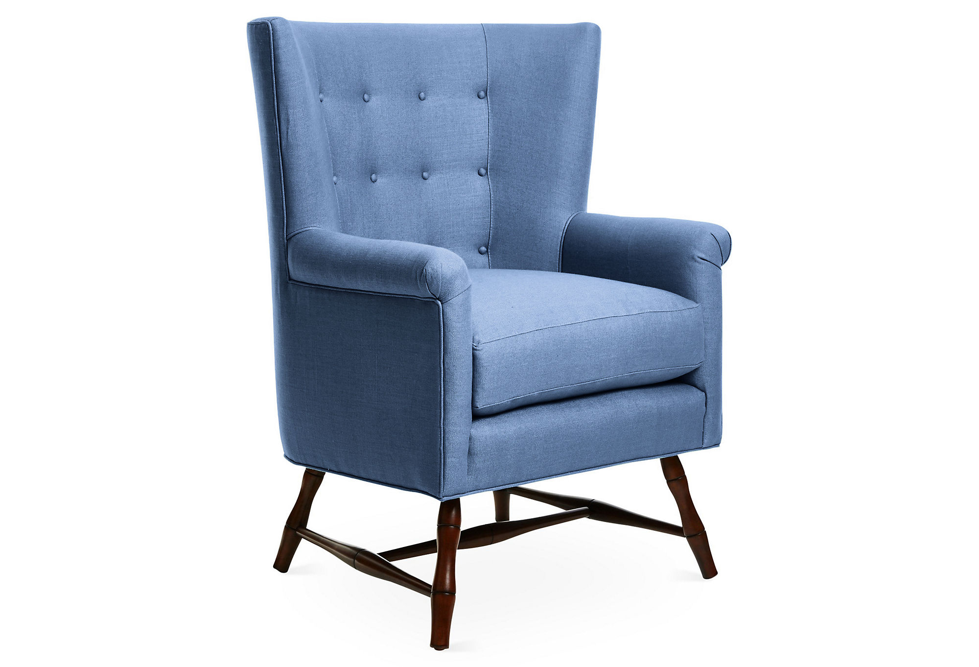 Saphira Wingback Chair by AllModern