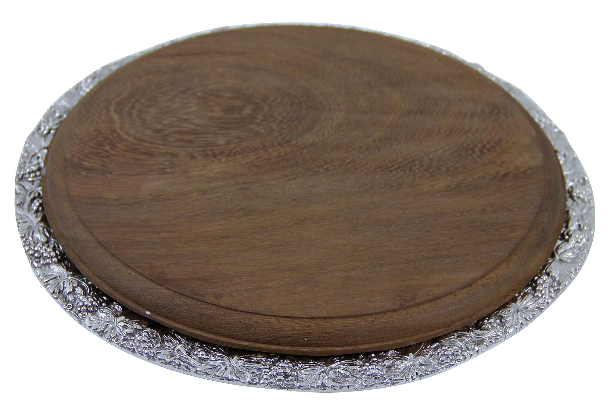 silver cheese u0026 bread board