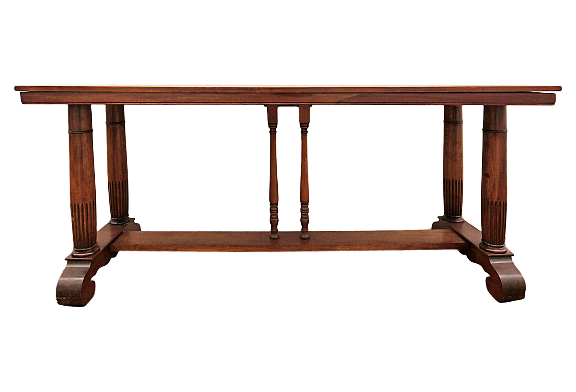 Pittsburgh Crank Coffee Table Washed Pine by Pottery Barn