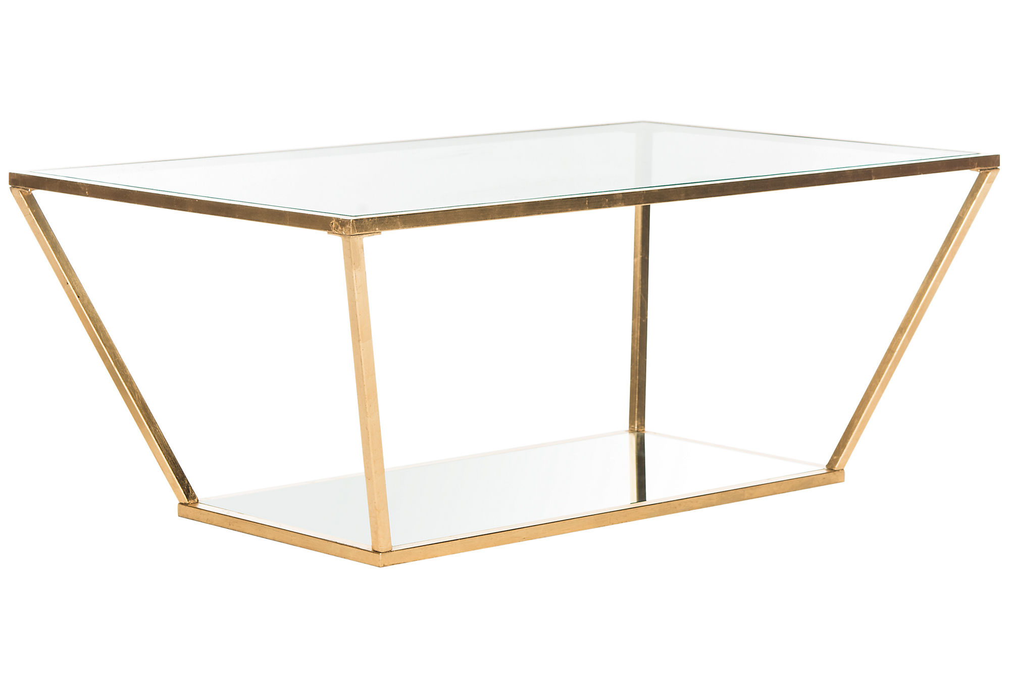 Clairemont Oval Coffee Table by Crate and Barrel