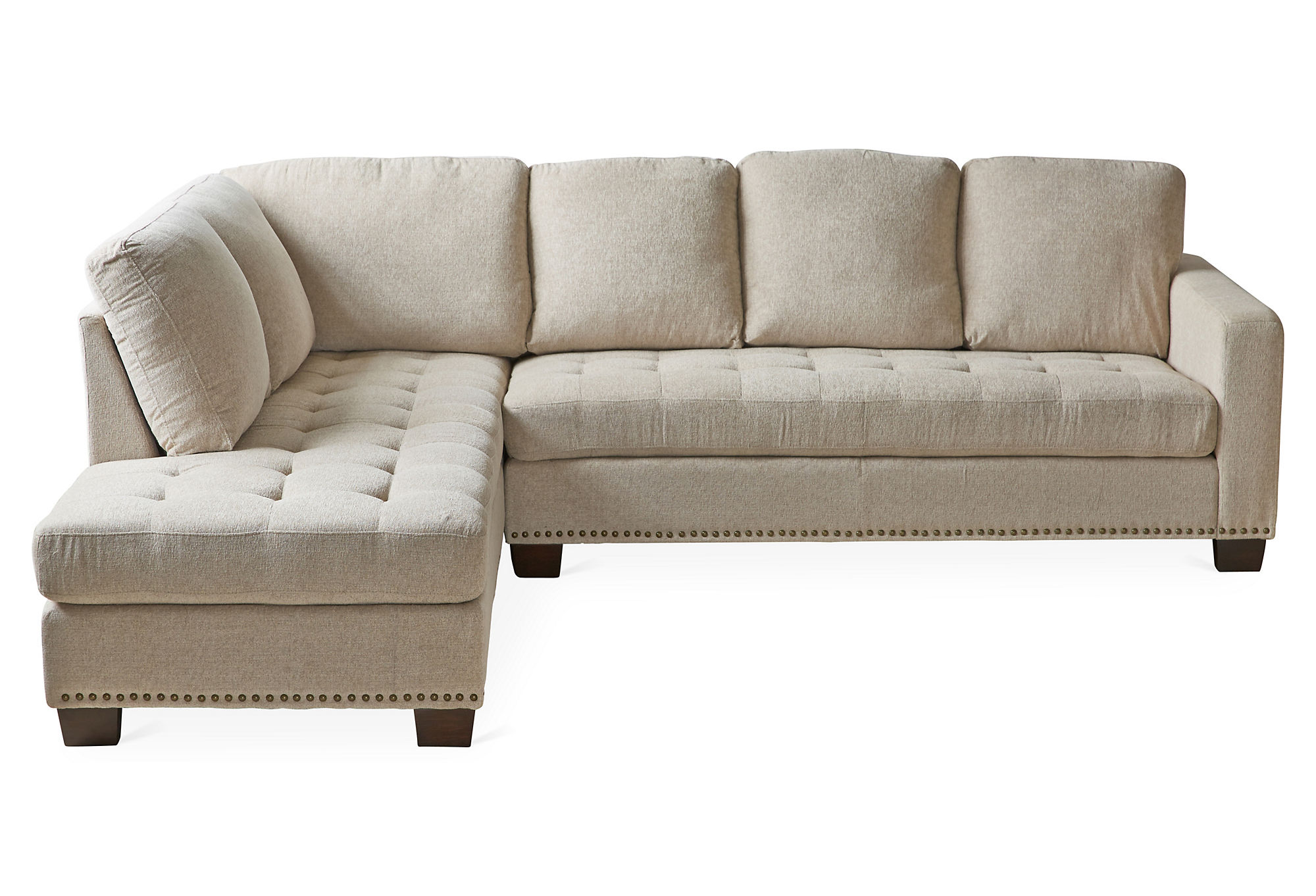 Vapor Daybed Sectional 2pc Right Arm Facing by Z Gallerie