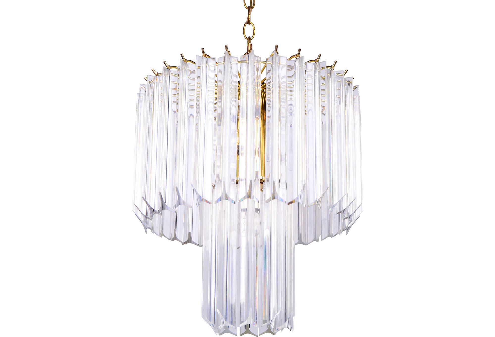 Lucite Chandelier Light gallery Light Ideas