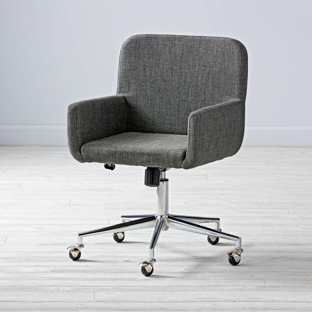 midlevel desk chair iron
