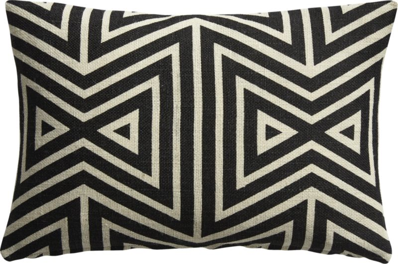 """""""18""""""""x12""""""""apani pillow with feather-down insert"""""""