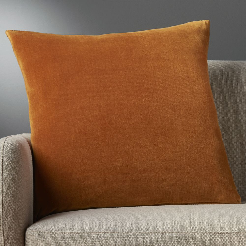 """23"""" leisure copper pillow with down-alternative insert"""