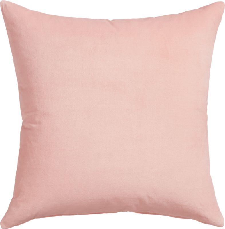 """23"""" leisure blush pillow with down-alternative insert"""