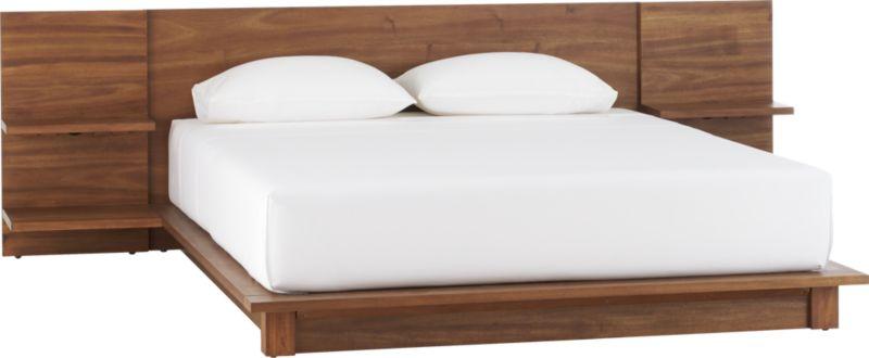 andes acacia queen bed